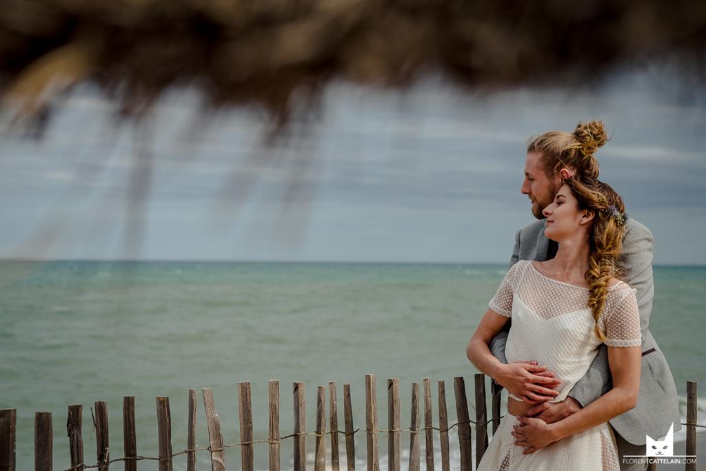 photo de couples au bord de la plage
