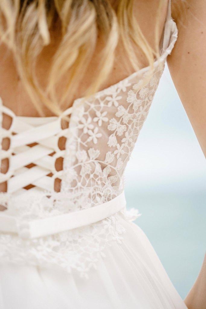robe de mariée fluide et bohème