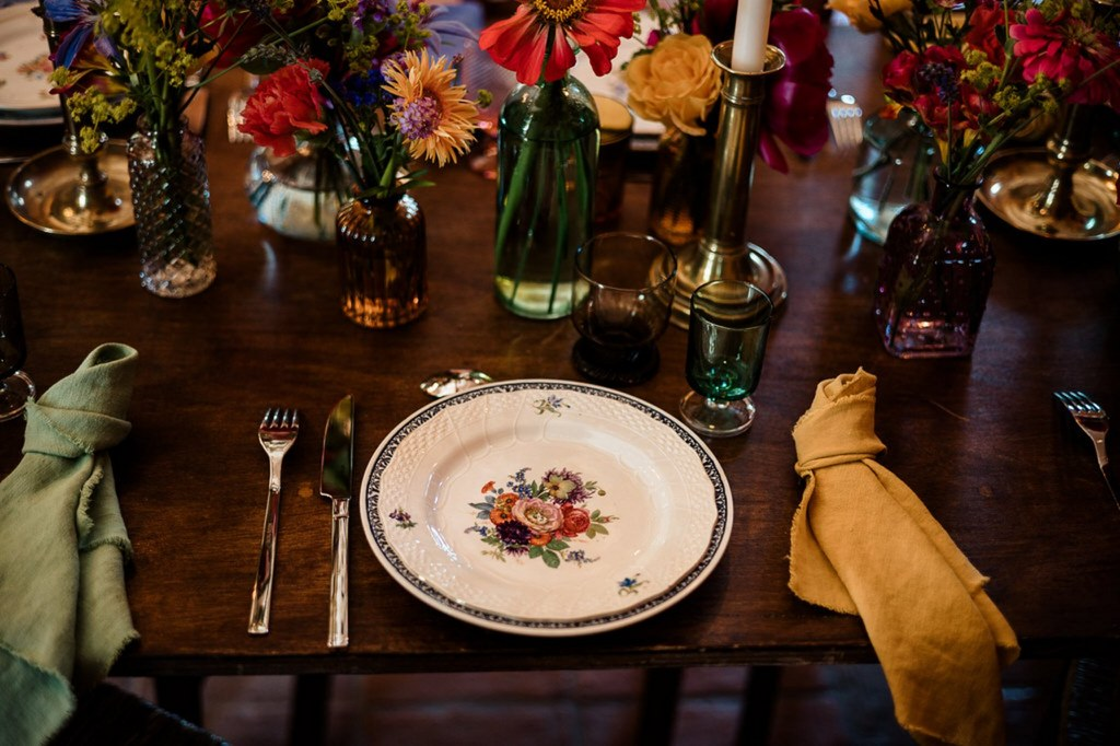 vaisselle de table mariage