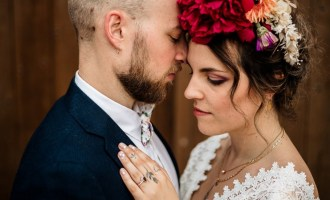 Rainbow love - Mariage alternatif coloré
