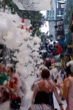 festa escuma - carrer sagunt