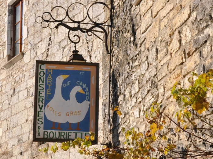 Martel - enseigne de vente de foie gras