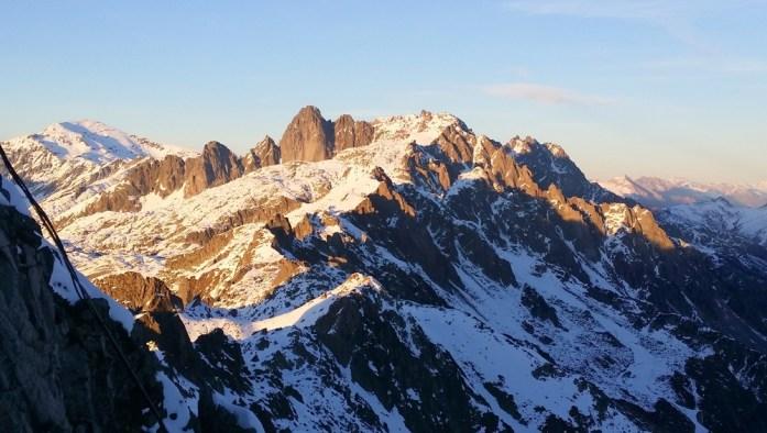 Hiver à Chamonix - Mont Blanc : Vue depuis le Brévent