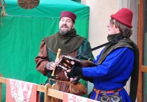 Le marché de Noël médiéval de Ribeauvillé - ménestrels