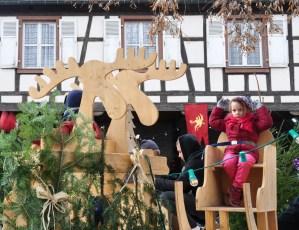 Le marché de Noël médiéval de Ribeauvillé - manège