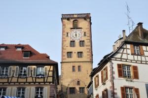 Le marché de Noël médiéval de Ribeauvillé - tour des bouchers
