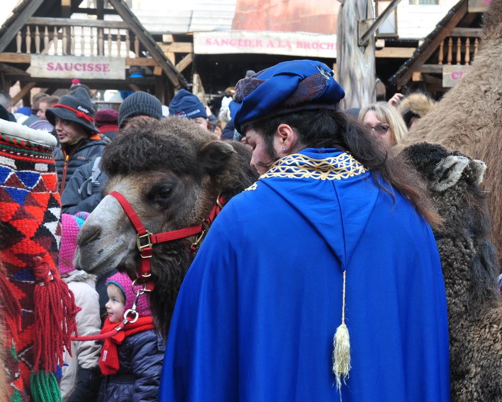 Le marché de Noël médiéval de Ribeauvillé - rois mages