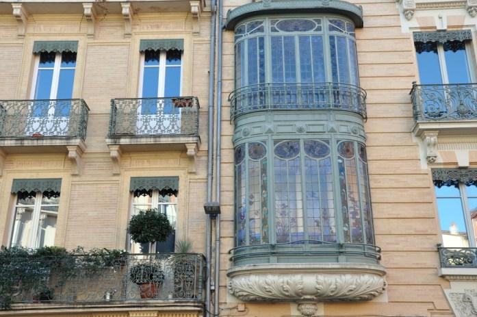Toulouse - Oriel de la place de la Trinité