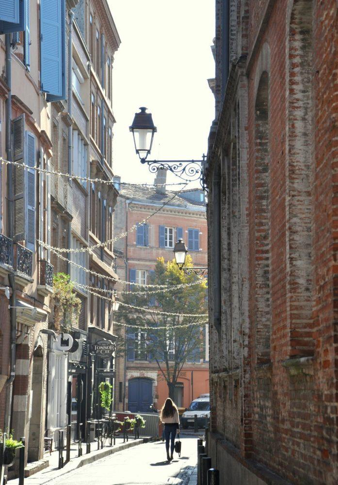 Toulouse - ruelle de la vieille ville
