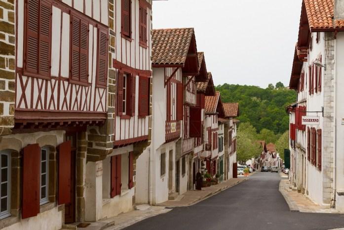 Village de La Bastide Clairence au Pays basque