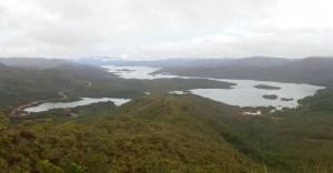 Nouvelle Calédonie - vue sur le lac de Yaté