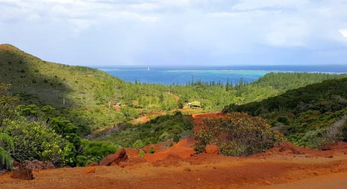 Nouvelle Calédonie : arrivée sur la côte est