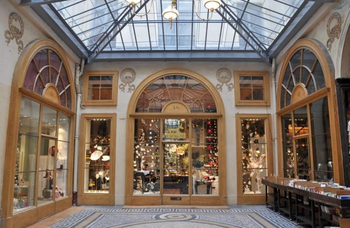 Paris - boutique de la galerie Vivienne