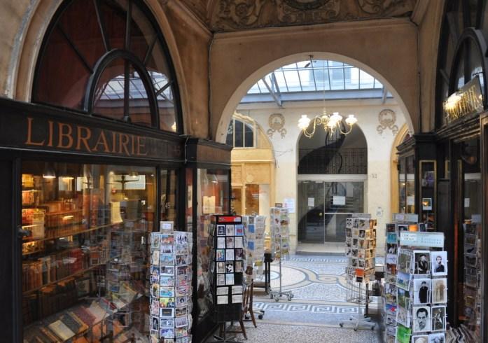 Paris - librairie de la galerie Vivienne
