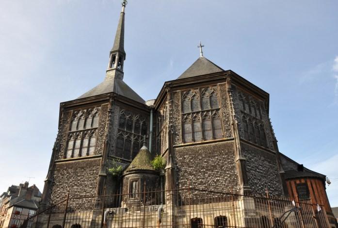 Honfleur - église Sainte Catherine, en bois