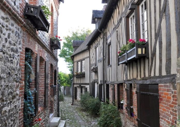 Honfleur - Rue du Puits