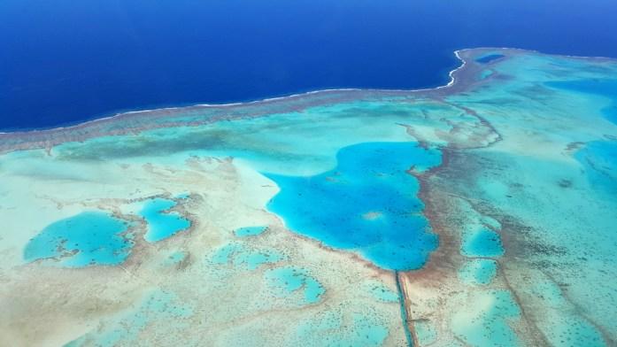 Nouvelle Calédonie - survol du lagon en ULM