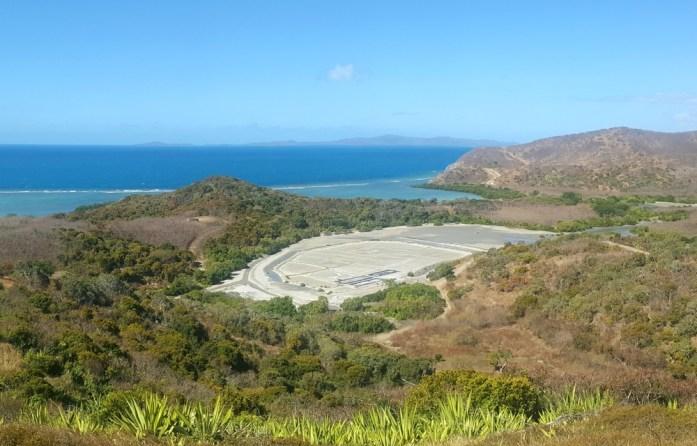 Nouvelle Calédonie - Marais salants de Poingam