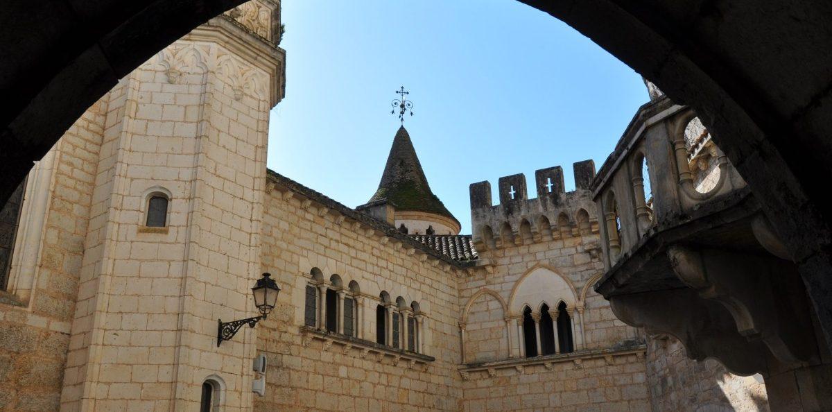 Rocamadour - le musée et ancien palais épiscopal