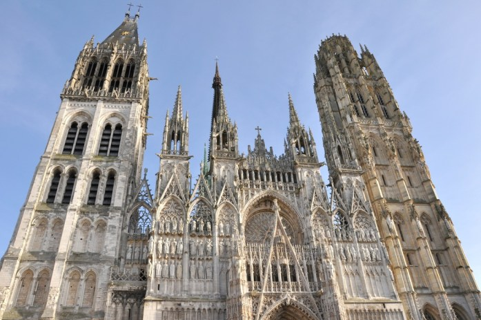 Un week-end à Rouen : la cathédrale