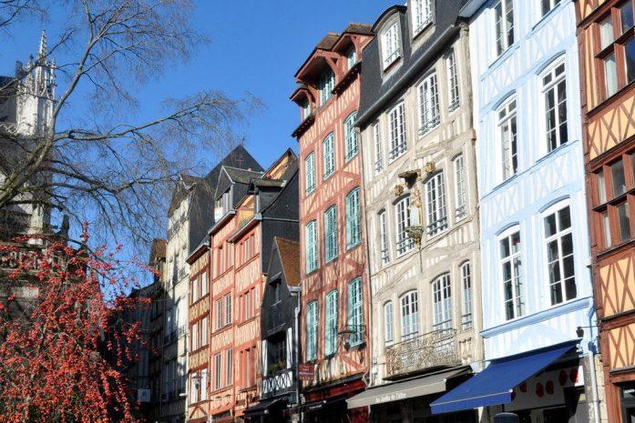 Un week-end à Rouen : colombages colorés