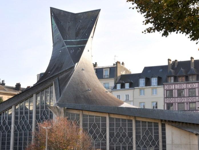 Un week-end à Rouen : église Jeanne d'Arc