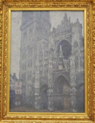 Un week-end à Rouen : Cathédrale peinte par Monet