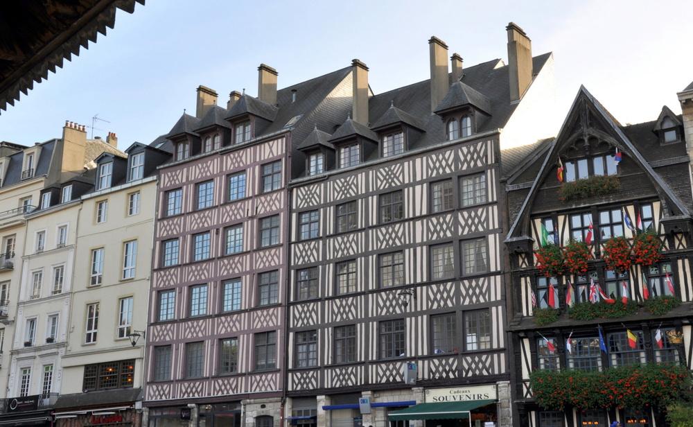 Un week-end à Rouen : la place du Vieux Marché