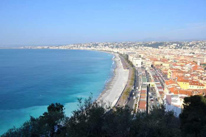 Visiter Nice en un week-end : panorama sur Nice