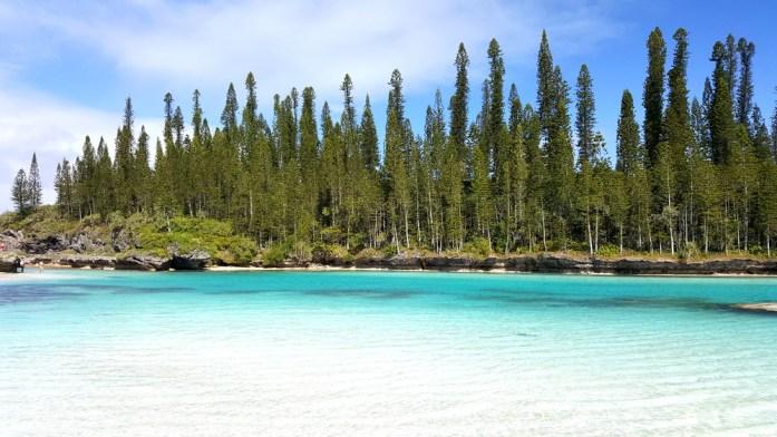 Les îles de Nouvelle Calédonie - piscine naturelle d'Oro