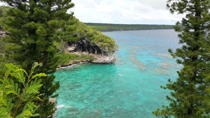 Îles de Nouvelle Calédonie - falaises de Jokin
