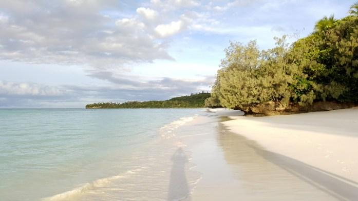 Îles de Nouvelle Calédonie - plage de Luengoni