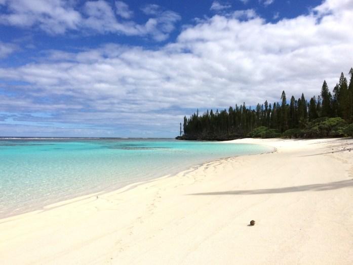 Îles de Nouvelle Calédonie - plage de Yejélé