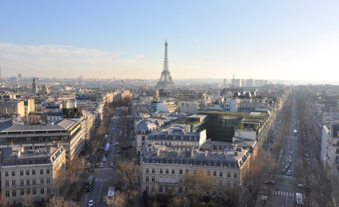 Paris en records - monument le plus haut