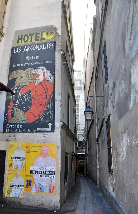 Paris en records - rue la plus étroite