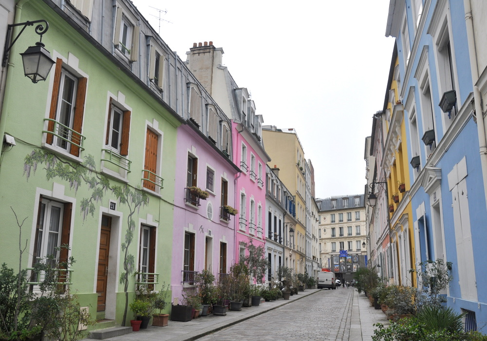 Paris en records - rue la plus colorée