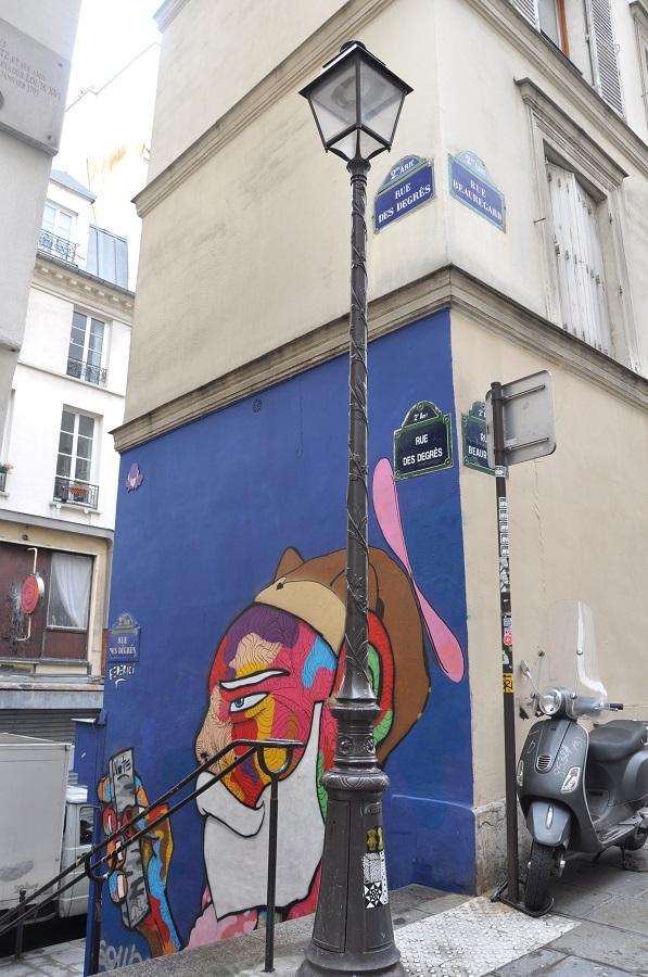 Paris en records - rue des degrés