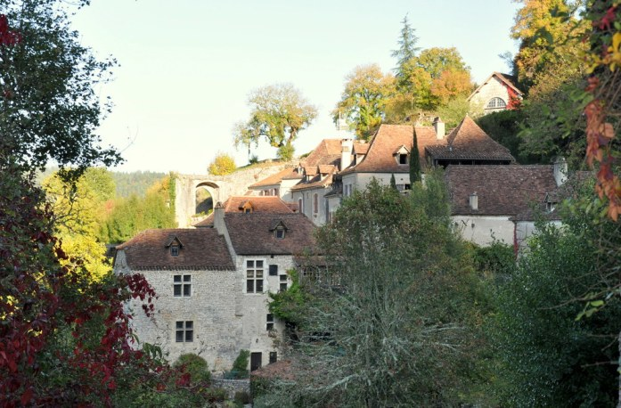 Village de Saint Cirq-Lapopie