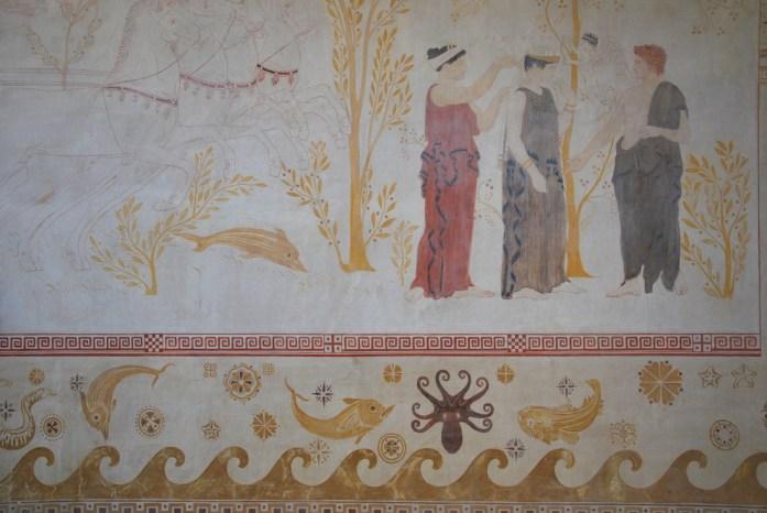 Beaulieu - fresque de la villa Kerylos
