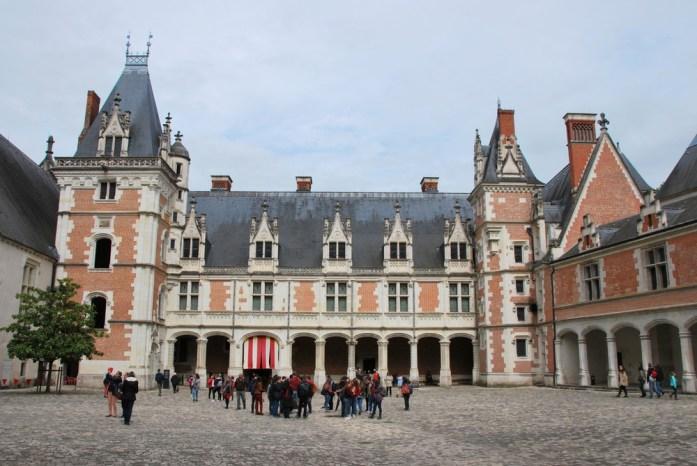 Château de Blois - aile gothique