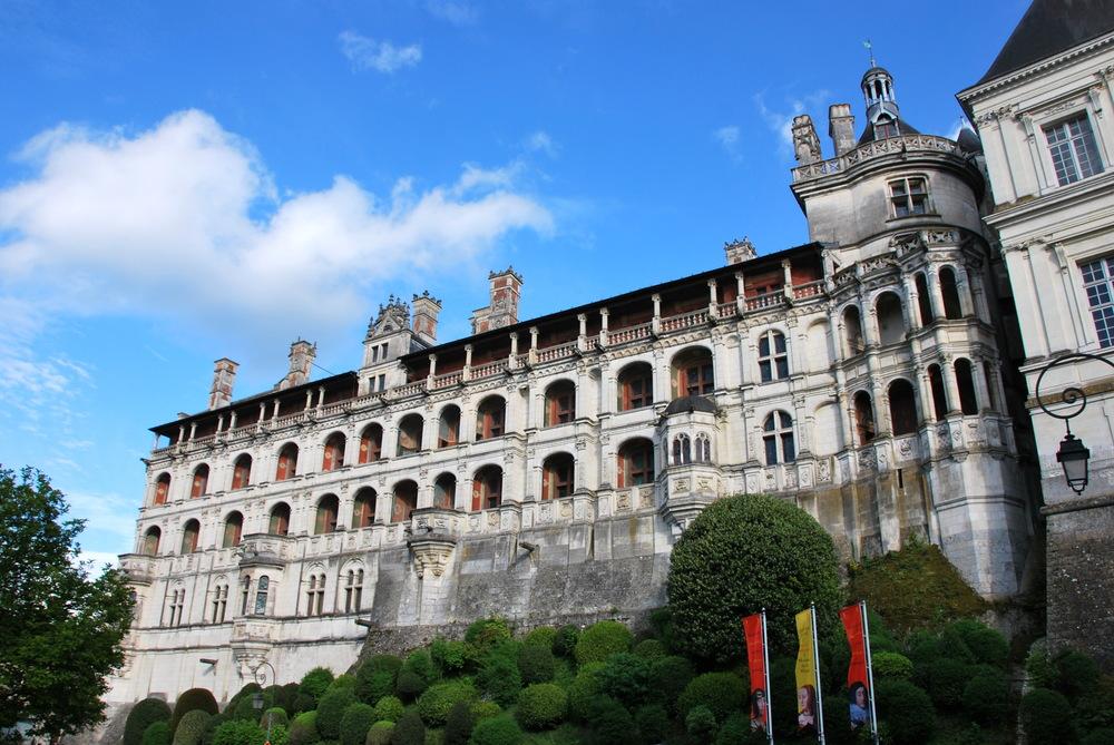 Extérieur du château de Blois