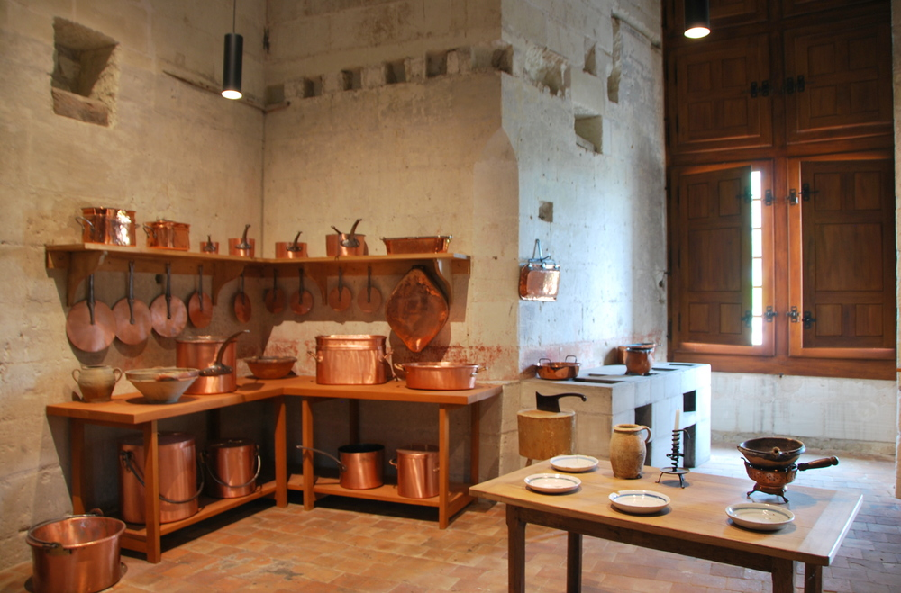 Château de Chambord - les cuisines