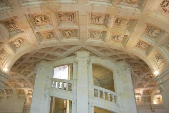 Château de Chambord - escalier à double révolution