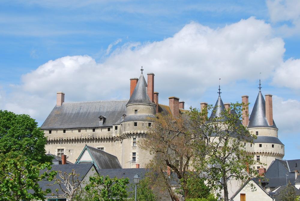La Loire à vélo - château de Langeais
