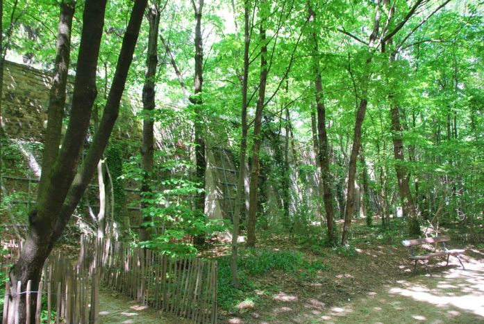 Paris au vert - jardin naturel Pierre Emmanuel