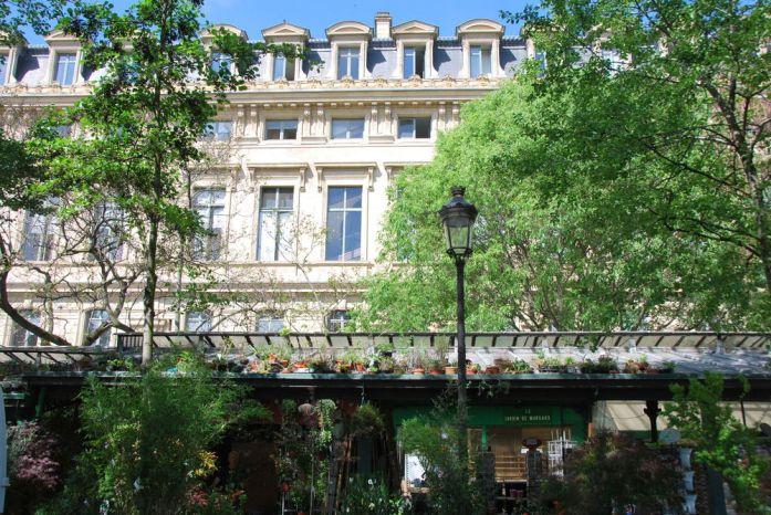 Paris au vert - marché Elisabeth II