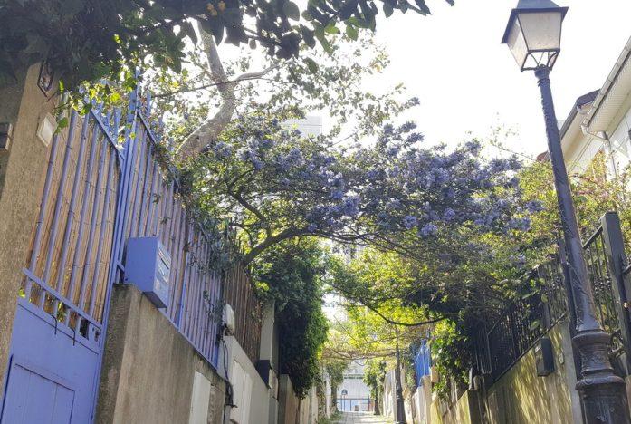 Paris au vert - villa à la Mouzaïa
