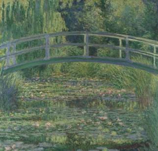 Une journée autour de Giverny - tableau de Monet