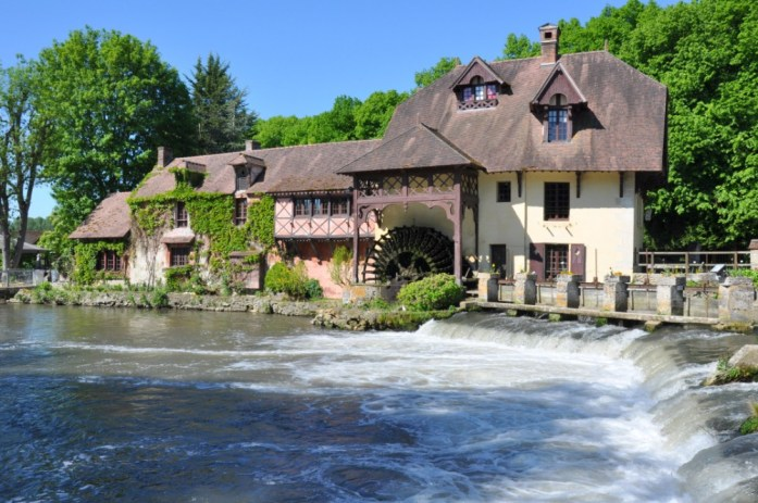 Une journée autour de Giverny - moulin de Fourges