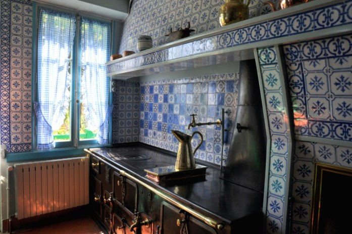 Une journée autour de Giverny - cuisine de la maison de Monet